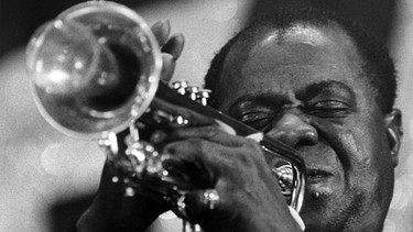 Louis Armstrong s/w-Bild | Bild: picture-alliance/dpa