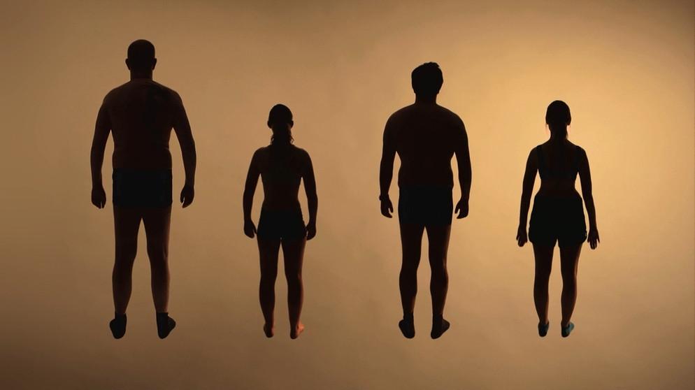 Matratzen Test - die Körperbau-Typen