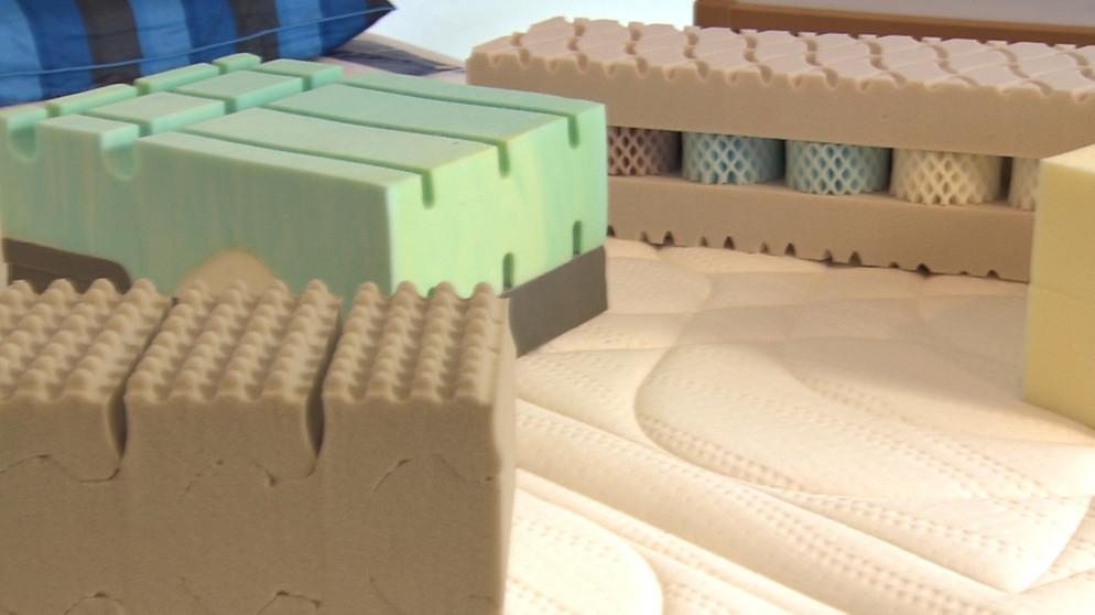 matratzen welche matratze ist die richtige gesund im alltag. Black Bedroom Furniture Sets. Home Design Ideas