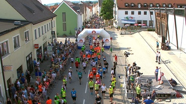 Lauf 10! in Wolnzach | Bild: Screenshot BR