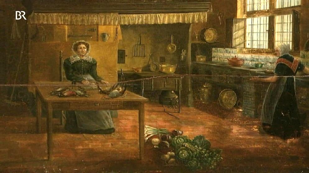 Schweizer kuche um 1900