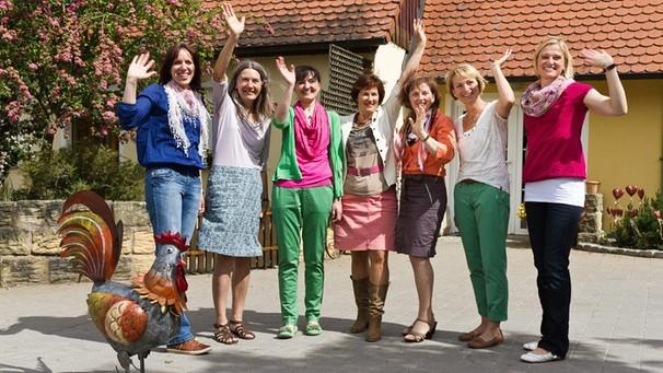 neue staffel: landfrauenküche | pressemitteilungen | presse | br.de - Landfrauen Küche