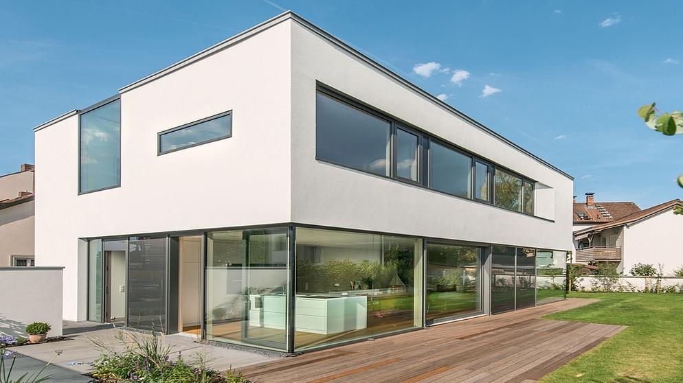 Ein Modernes Haus In Der Altstadt | Bild: Prof. Dieter Leistner