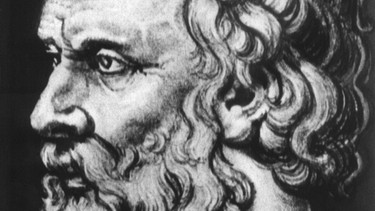 Der Philosoph Platon | Bild: picture-alliance/dpa