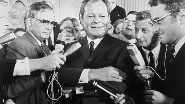 Willy Brandt | Bild: picture-alliance/dpa
