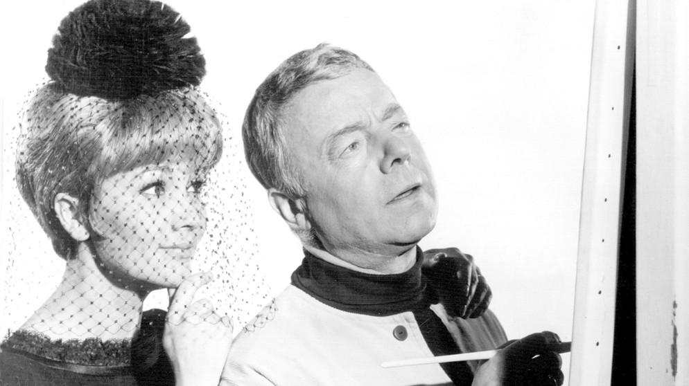 Liselotte pulver und heinz rühmann 1965 in hokuspokus oder wie