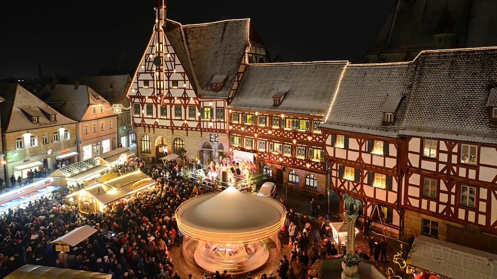 Weihnachtsmarkt in bamberg 2018