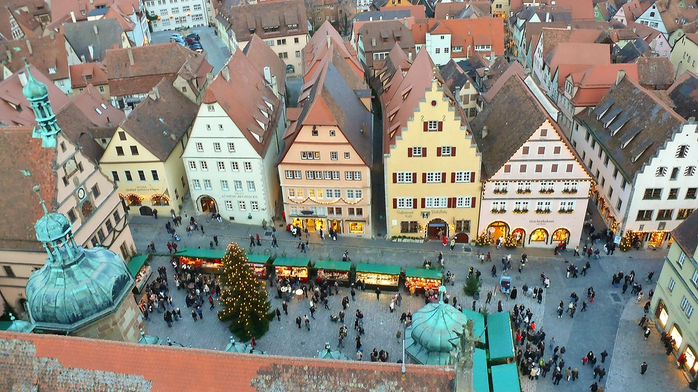 Reiterlesmarkt in Rothenburg ob der Tauber | Bild: Siegfried Klafschinski