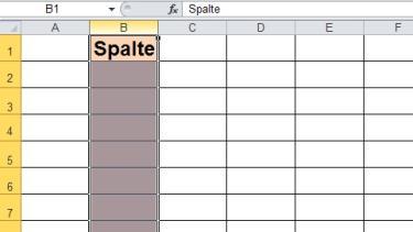 Grips mathe 40 einf hrung in die tabellenkalkulation for Tabelle mit 9 spalten
