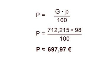 rabatt berechnen rechnungswesen
