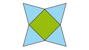 netz dreiecksprisma