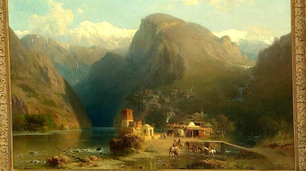 Landschaftsmalerei barock  Gemälde: Sämtliche Landschaften auf einen Blick   Schatzkammer ...