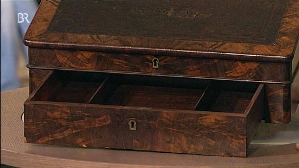 schreibpult mobiles mini b ro m bel schatzkammer. Black Bedroom Furniture Sets. Home Design Ideas