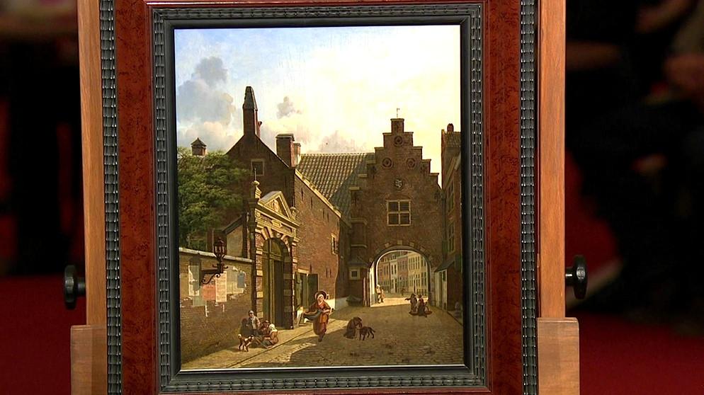stadtportrait stolze niederlande gem lde schatzkammer kunst krempel br fernsehen. Black Bedroom Furniture Sets. Home Design Ideas