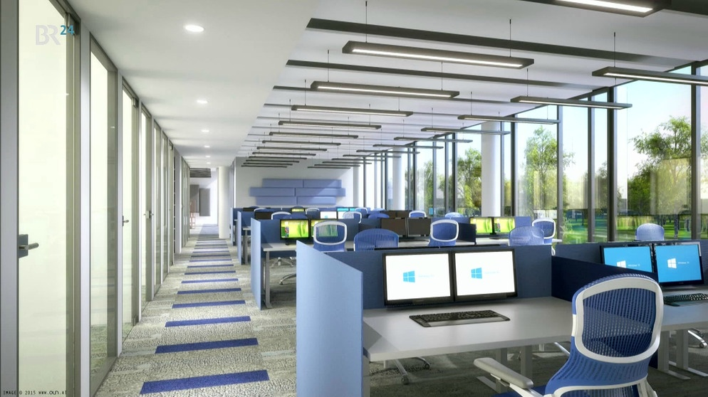 Ohne feste Arbeitsplätze Microsoft eröffnet neue  ~ Staubsauger Zentrale München