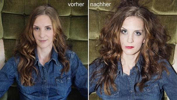 Caro Matzko: Vorher-Nachher | Bild: Gerald von Foris