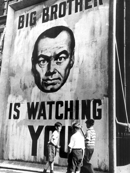 Um es mal in Neusprech zu sagen  Doppeltplusgut   Neunzehnhundertvierundachtzig         von    George OrwellCinematic    Regal