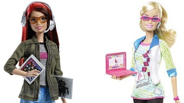 Programmier Barbies von Mattel | Bild: Screenshots amazon.com/mattel.com, Collage BR