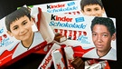 Kinderriegel in der EM-Edition | Bild: picture-alliance/dpa