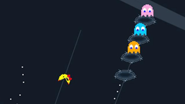 Ms Pac Man in Google Maps | Bild: Google / Screenshot BR