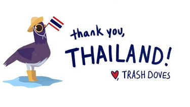 Trash Dove Thailand | Bild: Screenshot
