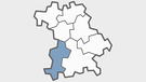 Region Schwaben in Bayern | Bild: BR