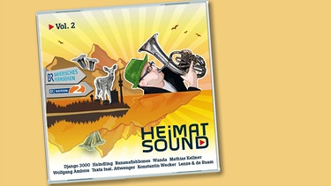 "CD-Cover ""BR-Heimatsound Vol.2"" 