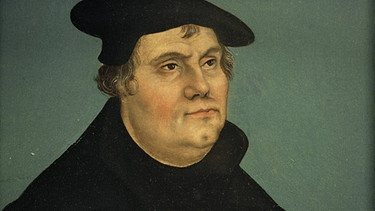 Martin Luther, Gemälde von Lucas Cranach | Bild: picture-alliance/dpa / akg-images