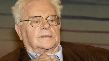 Der Autor und Kulturhistoriker Hermann Glaser | Bild: picture-alliance/dpa