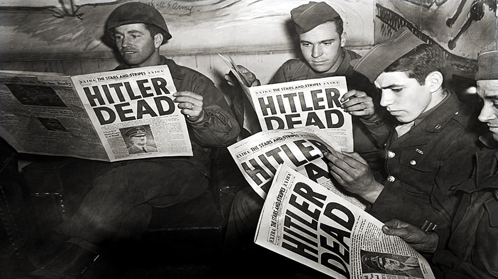 Citaten Hitler Xl : Hitler starb zweimal erst wurde er offiziell für tot