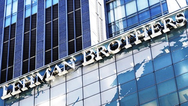 Hauptquartier der Lehman Brothers in New York City (Juni 2008) | Bild: picture-alliance/dpa/epa-Bildfunk/Justin Lane