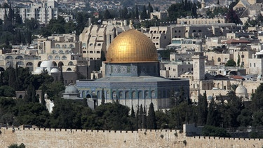älteste Moschee in Jerusalem | Bild: picture-alliance/dpa