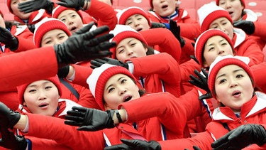 Cheerleader aus Nordkorea | Bild: picture-alliance/dpa