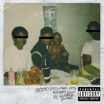 "Albumcover ""good kid, m.A.A.d city"" 