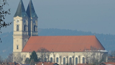 Klosterkirche in Niederalteich | Bild: picture-alliance/dpa