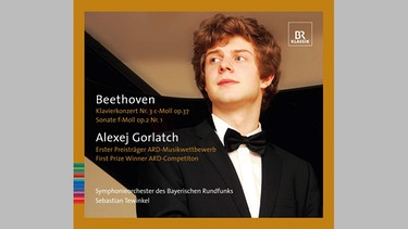 "CD-Cover: ""Beethoven - Alexej Gorlatcht"", Komponist Ludwig van Beethoven 