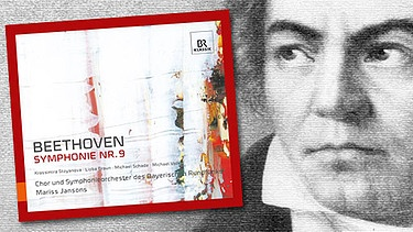 "CD-Cover: ""Beethoven Symphonie Nr.9"", Komponist Ludwig van Beethoven 
