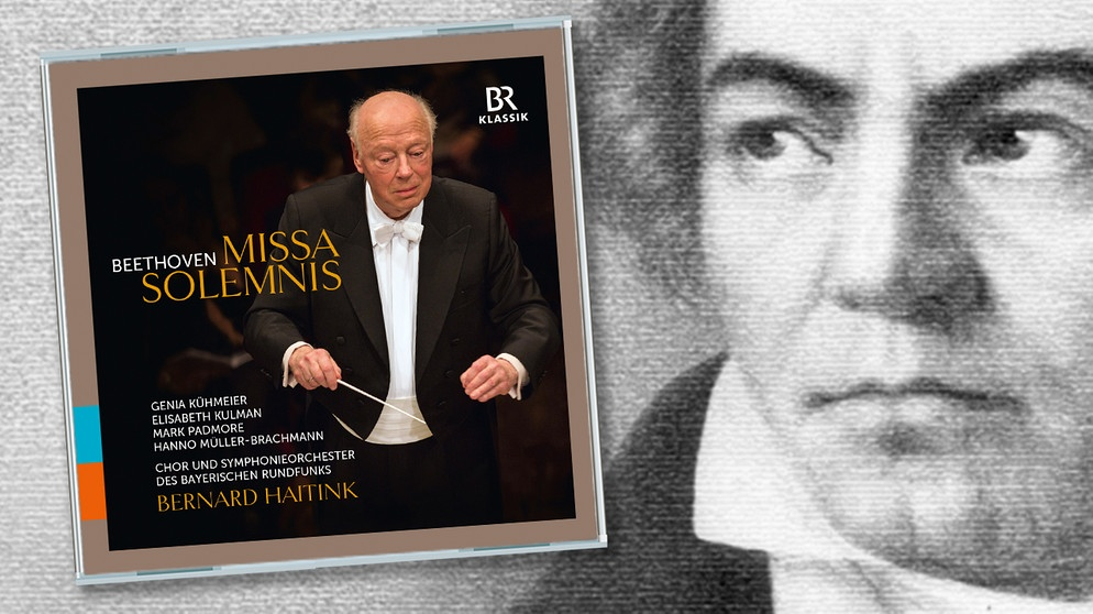 "CD-Cover: ""Missa Solemnis"", Komponist Ludwig van Beethoven 