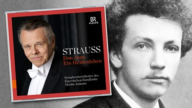 "CD-Cover: ""Strauss - Don Juan - Ein Heldenleben"", Komponist Richard Strauss 