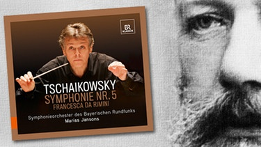 "CD-Cover: ""Tschaikowsky Symphonie Nr.5"", Komponist Peter Tschaikowsky 