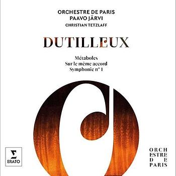 CD-Cover: Paavo Järvi dirigiert Dutilleux | Bild: Erato/Warner Classics