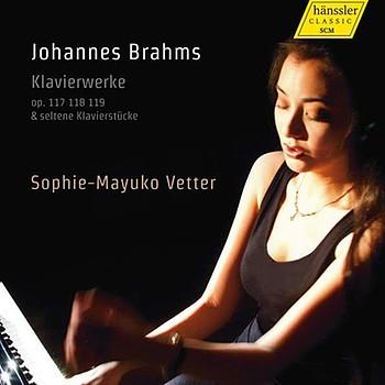 CD-Cover: Johannes Brahms - Klavierwerke | Bild: Hänssler Classic