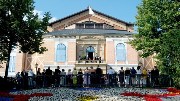 Bayreuther Festspiele 2014 - Roter Teppich | Bild: picture-alliance/dpa