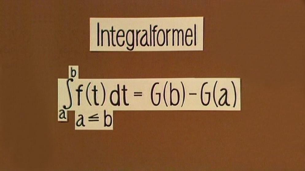 telekolleg integralrechnung herleitung der integralformel integralrechnung statistik. Black Bedroom Furniture Sets. Home Design Ideas