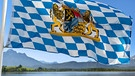 Bayern-Flagge | Bild: picture-alliance/dpa; Montage: BR