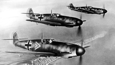 Messerschmitt Bf 109 | Bild: picture-alliance/dpa