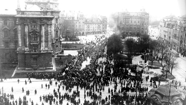 Revolution 1919 in München | Bild: picture-alliance/dpa