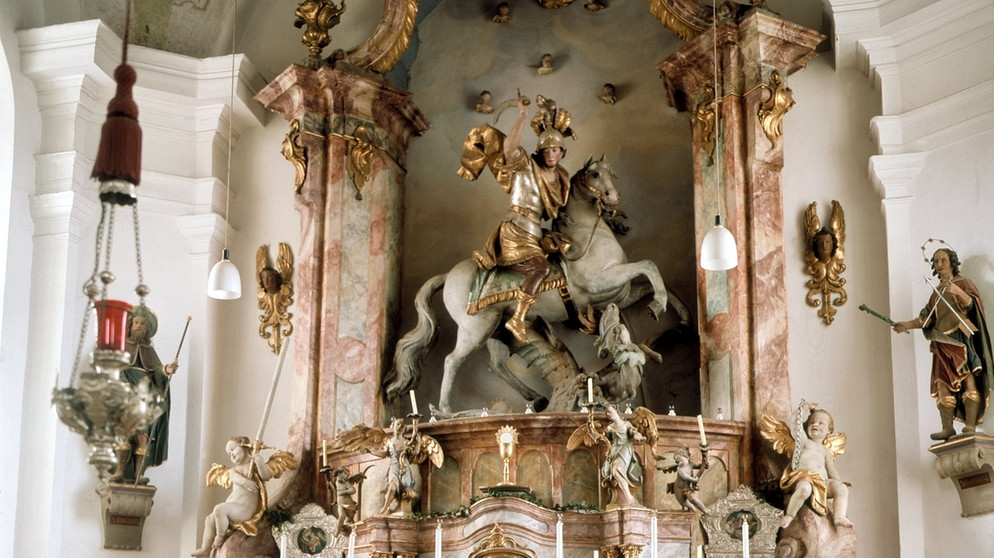 St. Georg in Bichl | Bild: picture-alliance/dpa