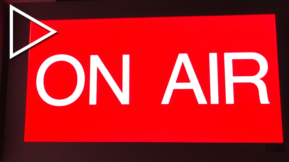 "Schild ""On Air"" 