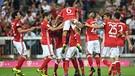 Jubel beim FC Bayern München | Bild: dpa-Bildfunk